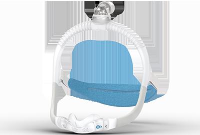 ResMed AirFit N30i Nasenmaske mit nach oben verlaufendem Schlauchanschluss